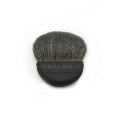 Half Moon Goat Hair Kabuki Powder Brush
