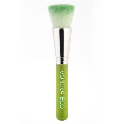 Custom Precision Cheek Eco-Friendly Bamboo Makeup Brush Factory&Supplier