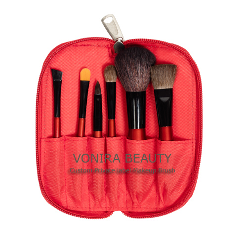Travel Cosmetic Brush Case kit