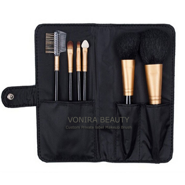 Animal Hair Cosmetic Brush Set