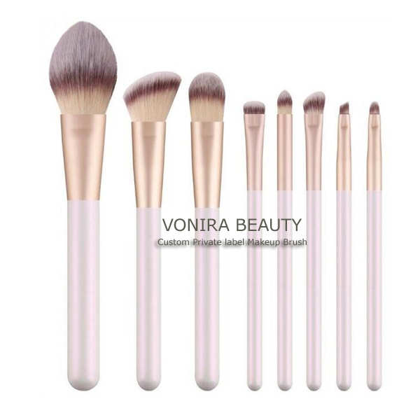 Luxury Customized High Quality Vegan Hair Makeup Brushes