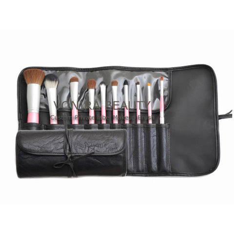 CUSTOM 10PCS BRUSH SET FACTORY