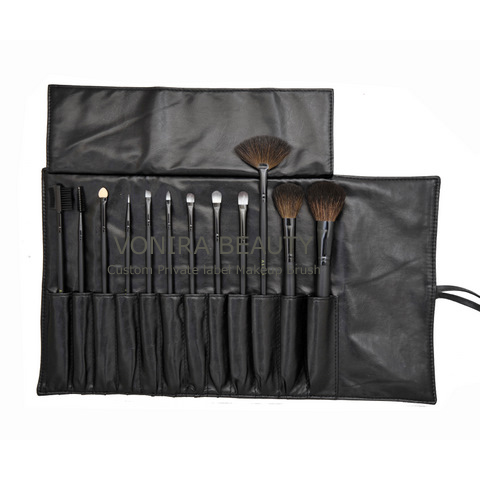 CUSTOM 12PCS MAKEUP BRUSH SET FACTORY