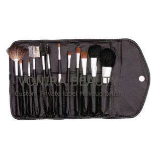 12 Sable Makeup Brush Set