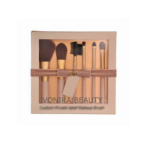 custom private label promotion travel makeup brush set