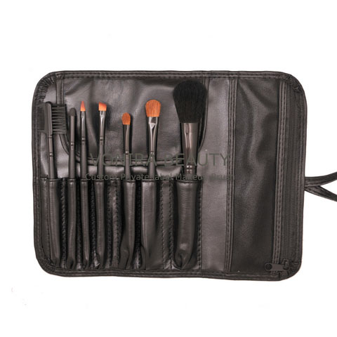 Custom Private Label 7PCS Travel Makeup Brush OEM Factory