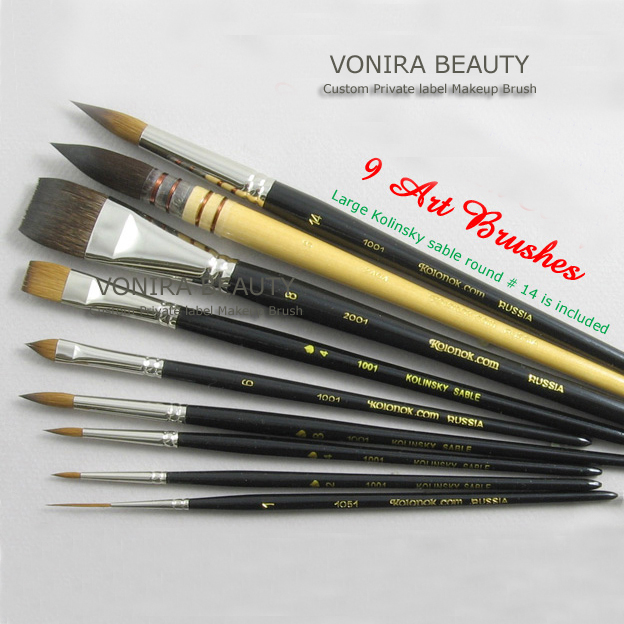 Custom Private Label Nail Art Brushes Factory
