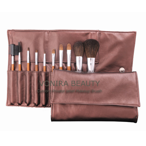 Wholesale/OEM Makeup 12pcs Brushes Set