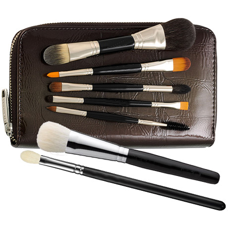 Deluxe Mini Brush Set Double Ended Model-Makeup Brush Factory
