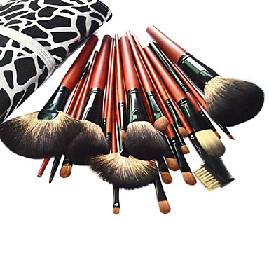 Professional Brush Set With Dark Lovely Pouch(24 Pcs)