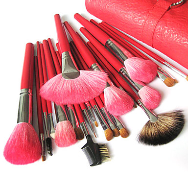 Top Grade Makeup Brush Sets with Free Leather Pouch