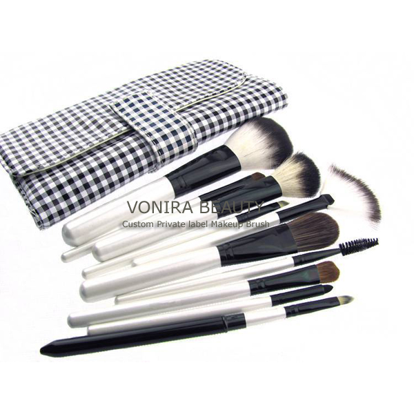 Custom OEM/Wholesale Professional 10 Piece Makeup Brush Set