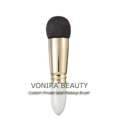 Small Fat Compact Powder Brush