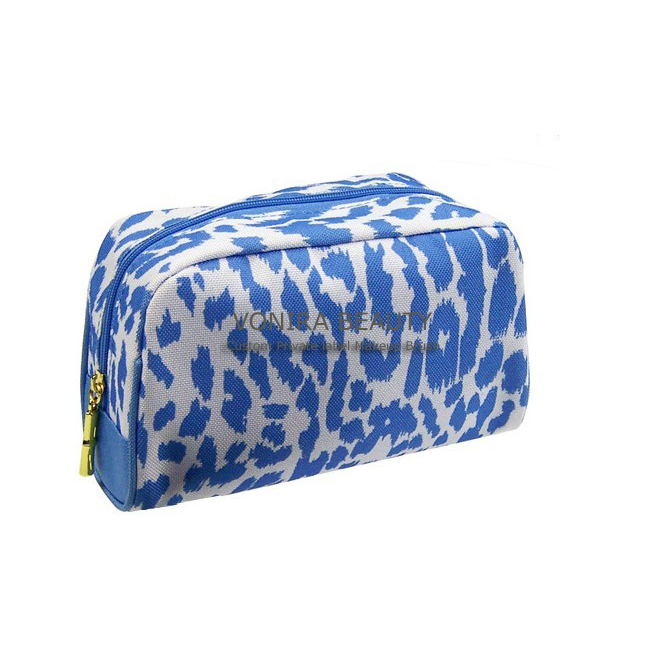 Blue Cosmetic Pouch