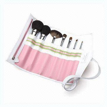 Gift Nine-piece Professional Make-up Brush Set with Goat Hair