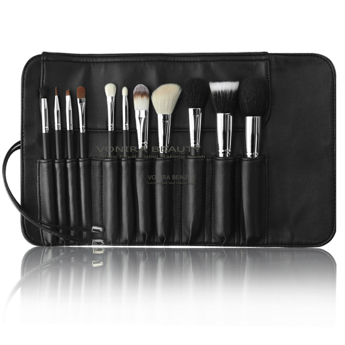 Quality 11 Piece Makeup Brushes Set