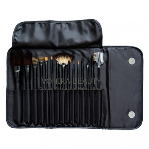 15 Piece Makeup Brush Kit