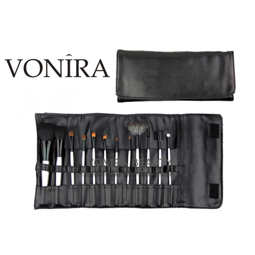 Vonira 12pcs Professional Brush Set