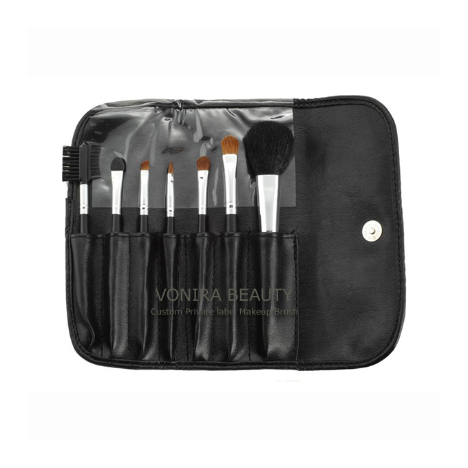 Private label makeup artist brushes kit