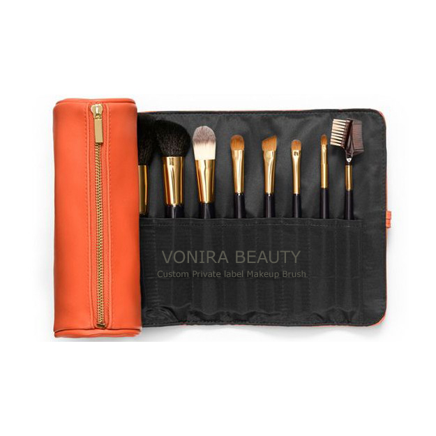 Luxury 18K Gold Brush Kit