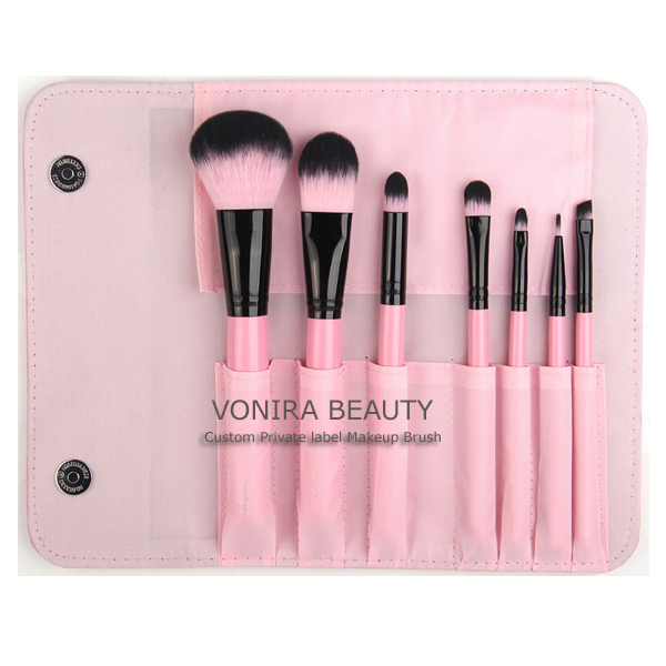 Private Label 7pcs Makeup Brush Set