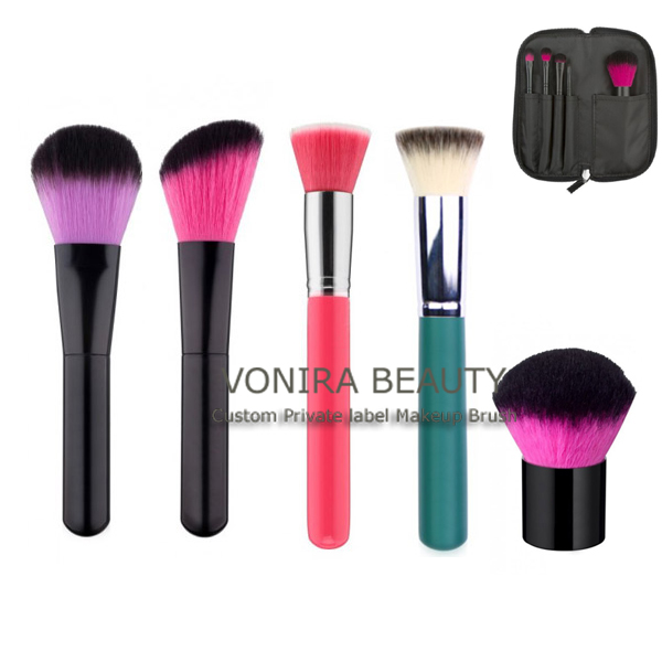 Lovely Multi-Color Brush Hair Cosmetic Brushes