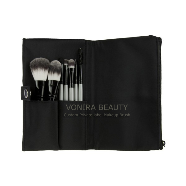 7 Piece cosmetic brush set