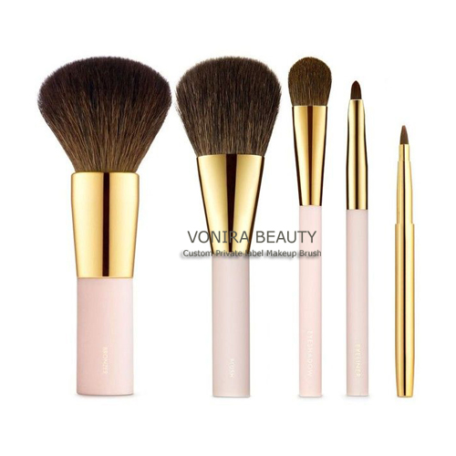 Luxury Gold Makeup Brushes