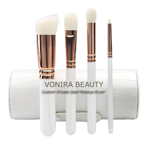 Vonira Beauty Rosy Gold Makeup Brushes