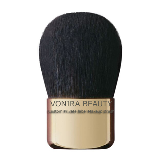 Vonira Beauty Gold Copper Kabuki Brush