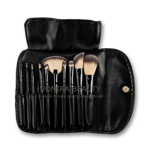 Professional Makeup Brush Factory Select 10 Piece Brush Set